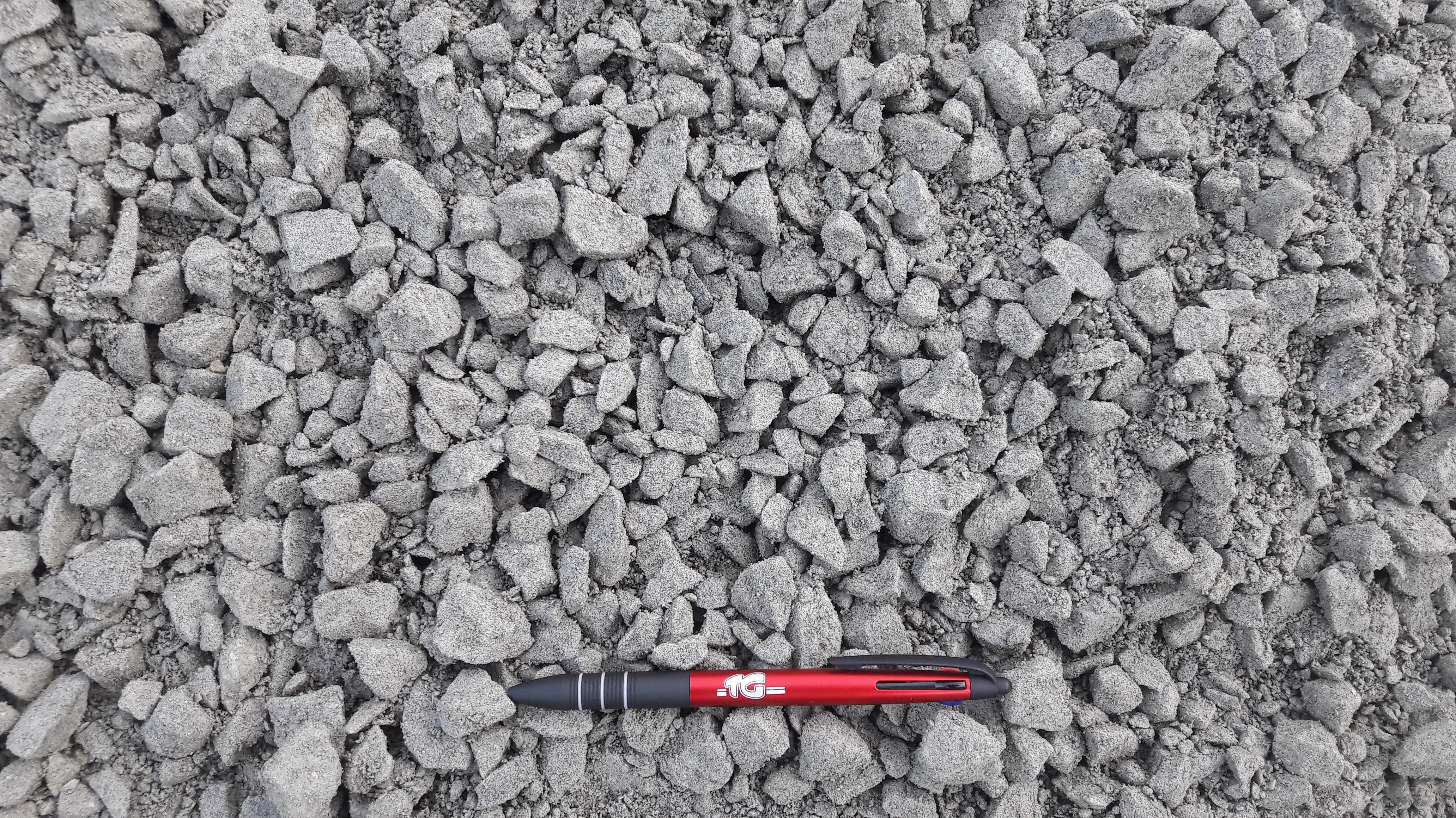 terrain, finition, accès, gravier gris